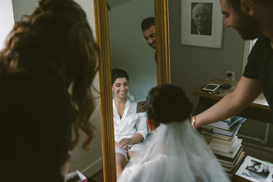 Bröllopsbilder förberedelser