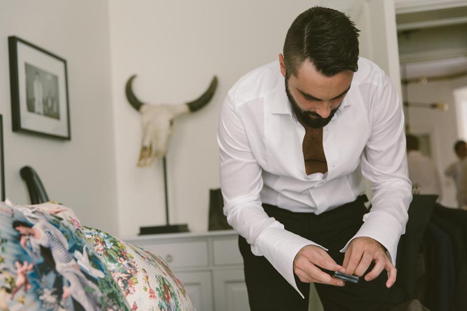 Cora och Chris bröllop