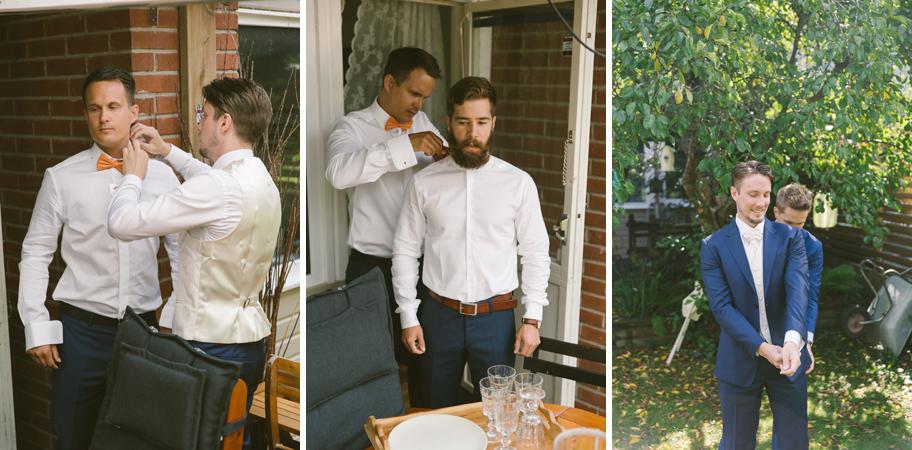 bröllopskläder brudgum
