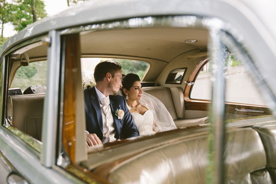 Rolls Royce bröllop