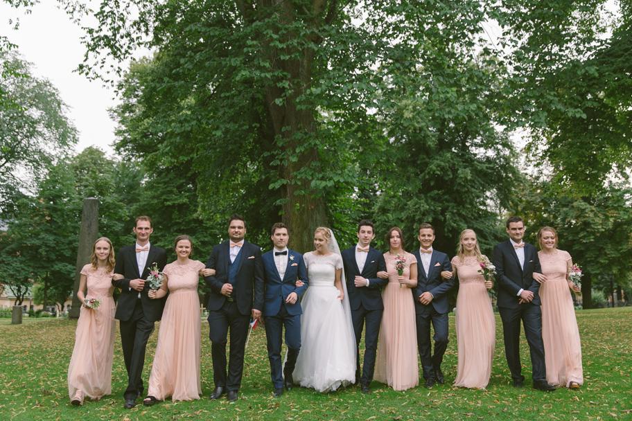 Brudfölje bröllop