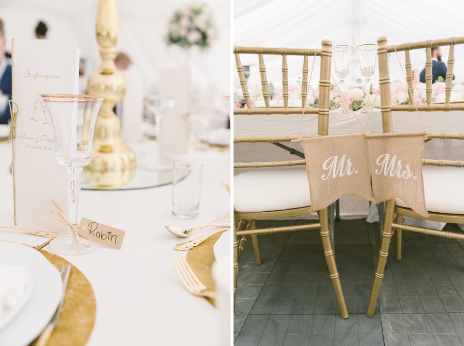 bordsdekorationer bröllop