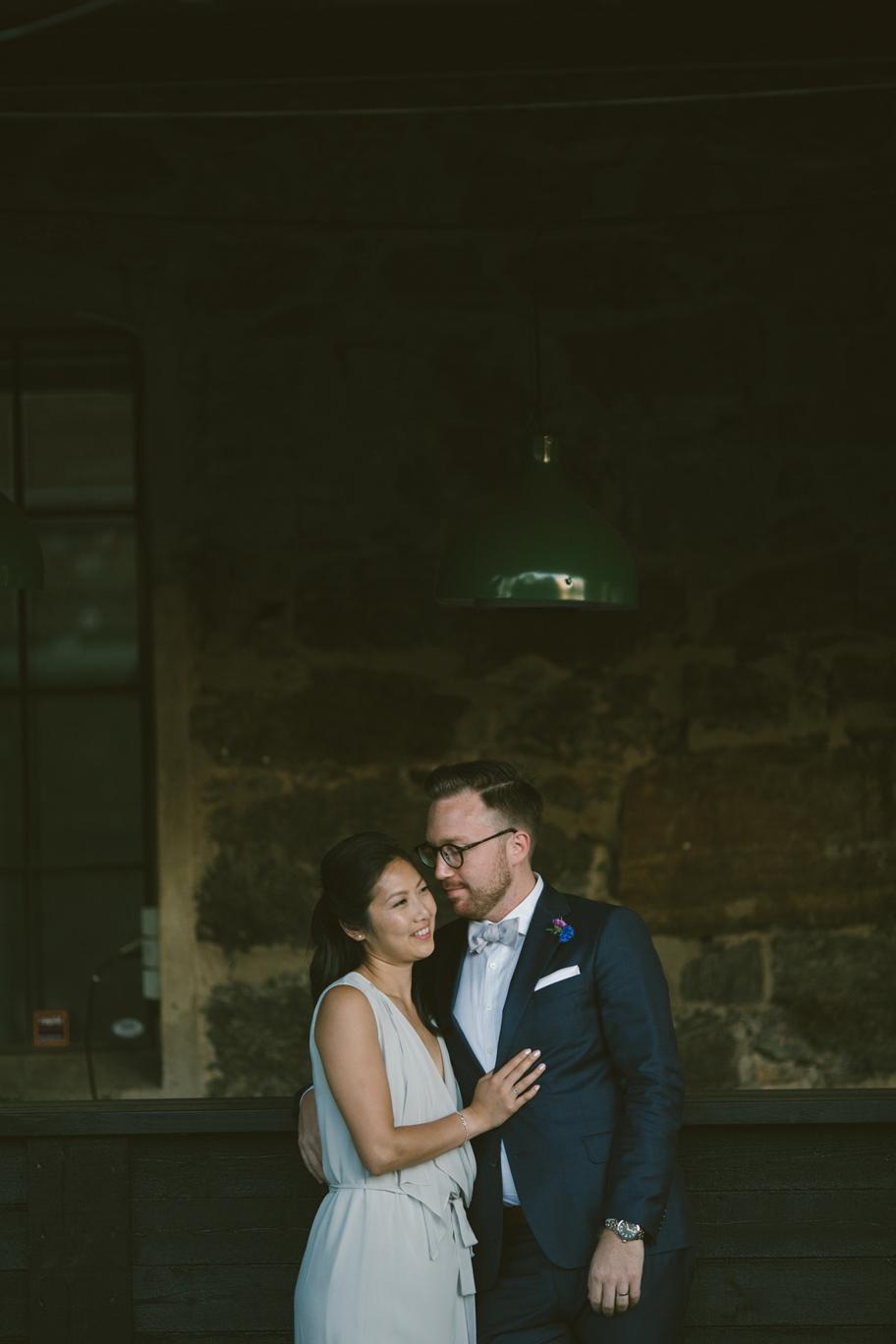 bröllop på färgfabriken