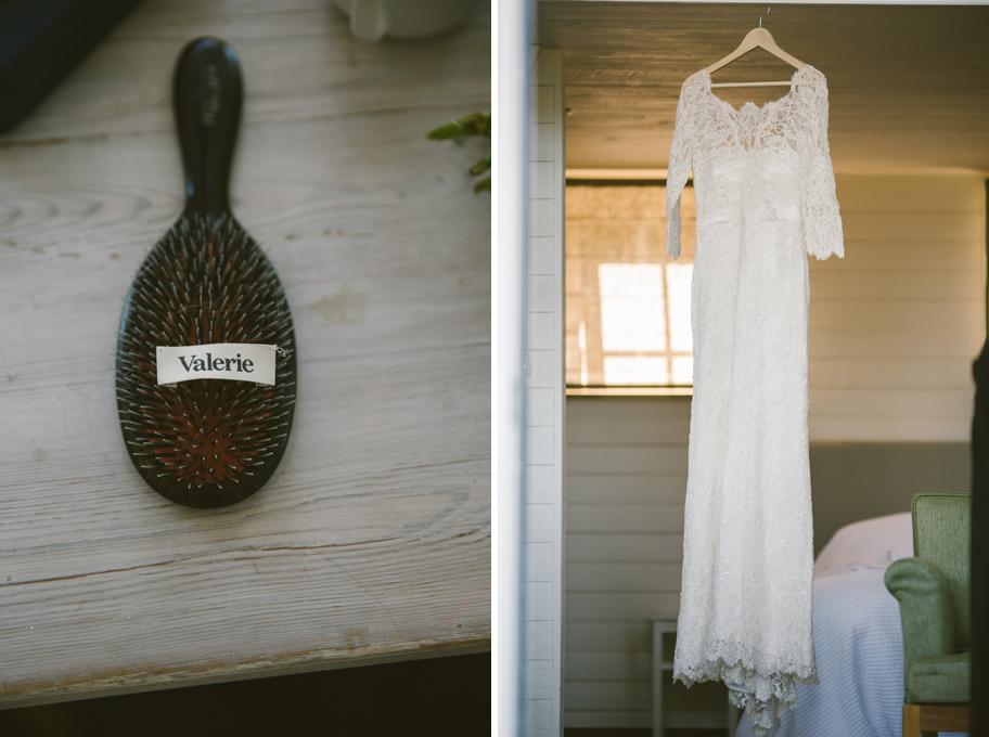Valerie bröllopsklänning