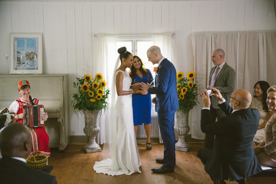 bröllop på Herrängens gård